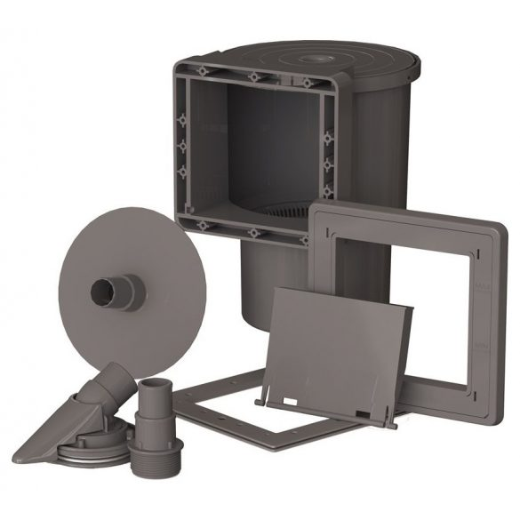 Gre graphite fémpalástos medence D350x132cm