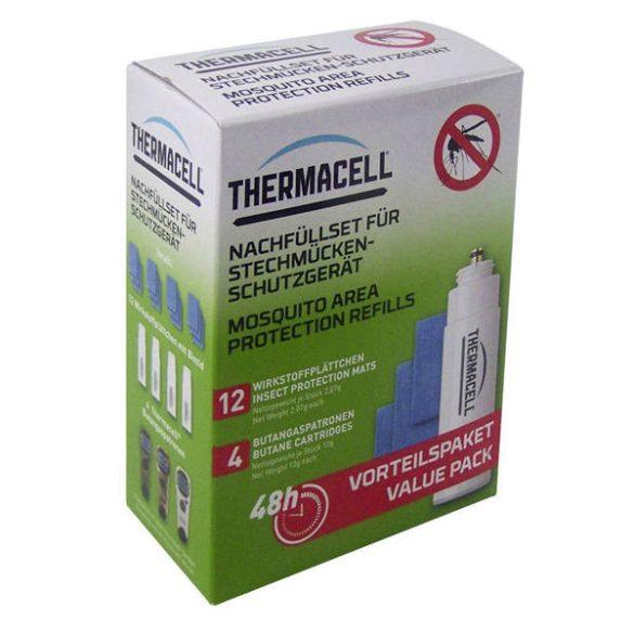 ThermaCell utántöltő csomag 4 palack   12 lapka - 48 órás