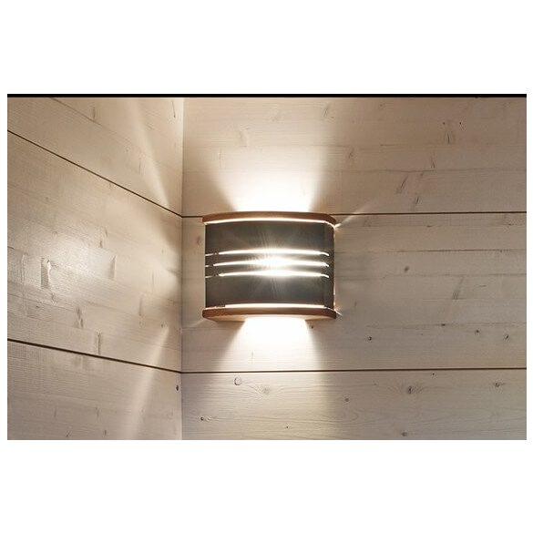 Harvia Exkluzív Lámpa-árnyékoló, lámpatesttel, fa /acél SAS21106