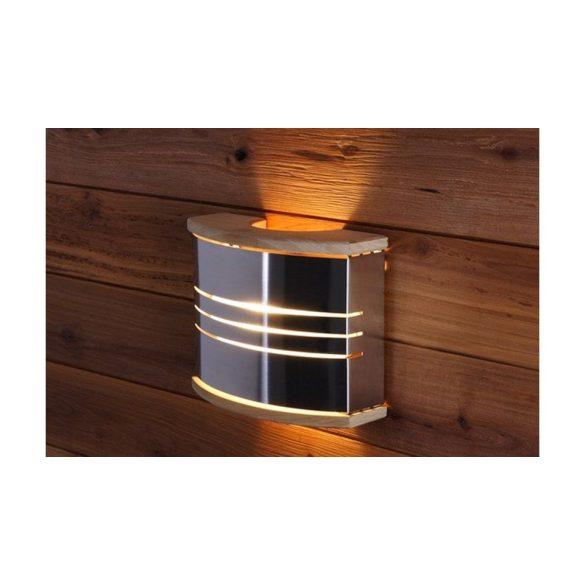 Harvia Exkluzív Lámpa-árnyékoló, lámpatesttel, fa / mattfekete-acél SAS21107