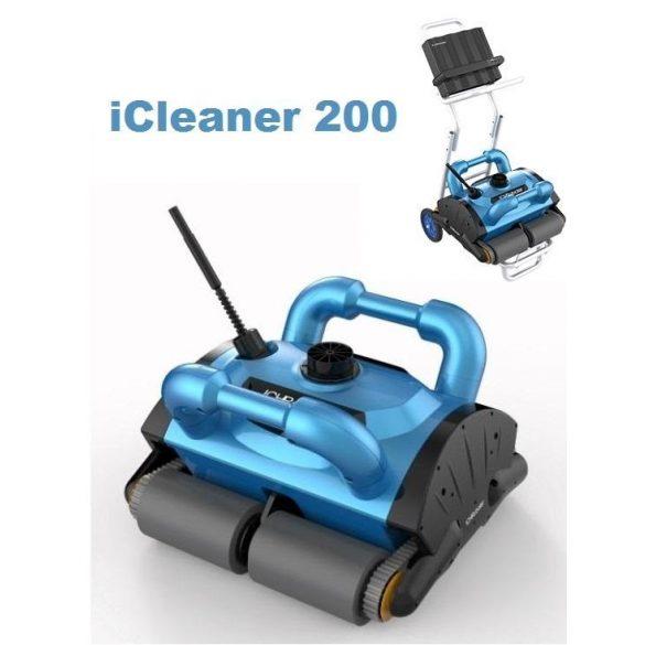 iCleaner 300 automata porszívó, hordkocsival