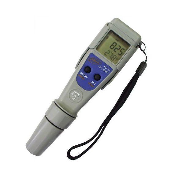 Digitális pH, Redox (klór) és hőmérsékletmérő AD14 - Ajándék kalibráló oldatokkal