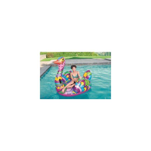 BESTWAY Pop Ostrich színes úszó sziget strucc 190 x 166 cm (41117)