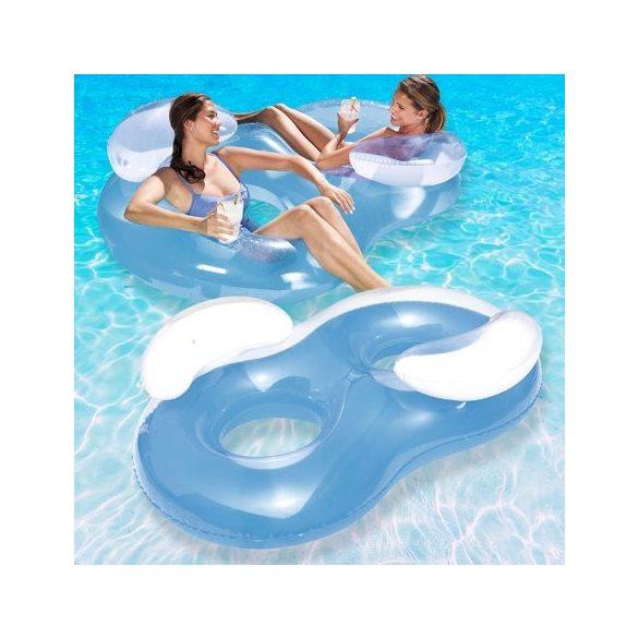 BESTWAY Double Ring Float kétszemélyes úszógumi 188 x 117cm (43009)