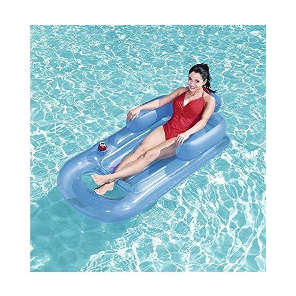 BESTWAY Designer Fashion Lounge kék gumimatrac 161 x 84cm (43028)
