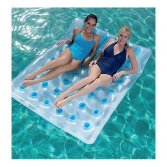 BESTWAY Double Beach Bed Lounge kétszemélyes lyukacsos gumimatrac 193 x 142cm (43055)