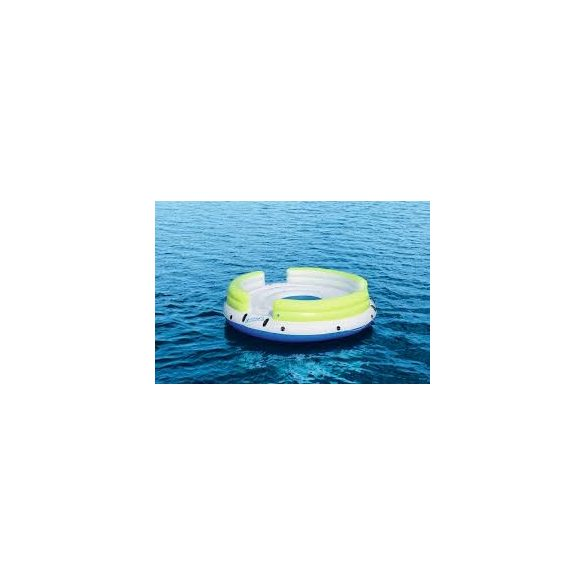 BESTWAY Lazy Dayz Island hatszemélyes úszó sziget 328 x 328cm (43135)