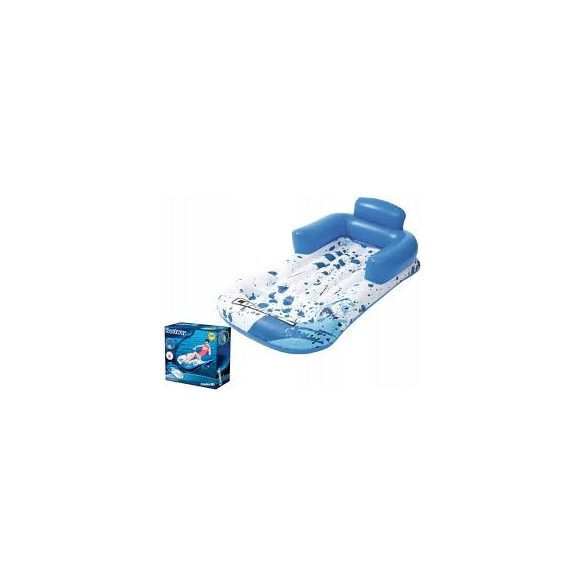 BESTWAY CoolerZ Cool Blue Lounge kék gumimatrac 161 x 84cm (43155)