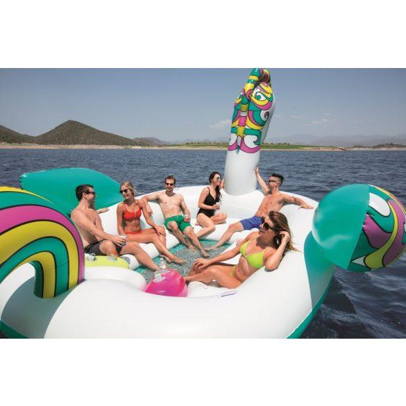 BESTWAY felfújható óriás úszósziget, unikornis alakú, 603 x 419 x 277 cm (43228)