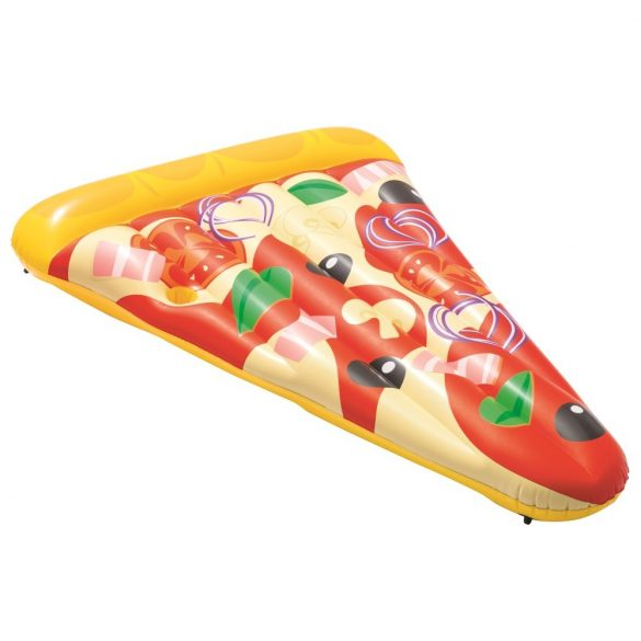 BESTWAY Pizza Party Lounge pizza alakú gumimatrac 188 x 130 cm (44038)