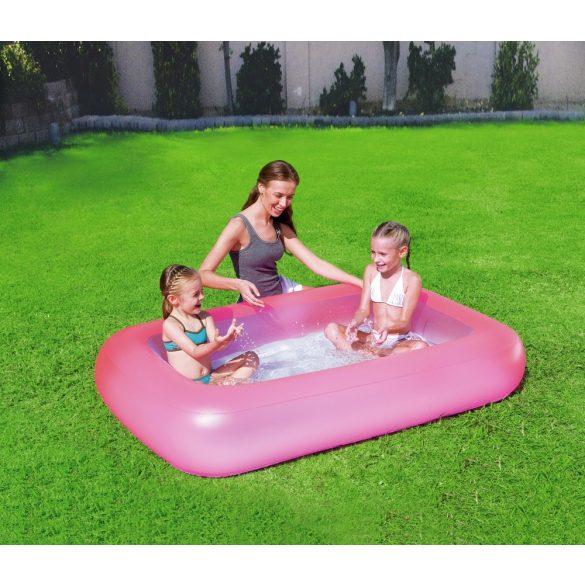 BESTWAY Aquababes Pool medence rózsaszín 165 x 104 x 25cm (51115)