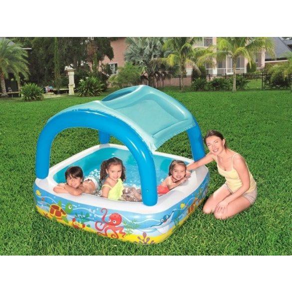 BESTWAY Canopy Play Pool medence 140 x 140 x 114cm (52192)
