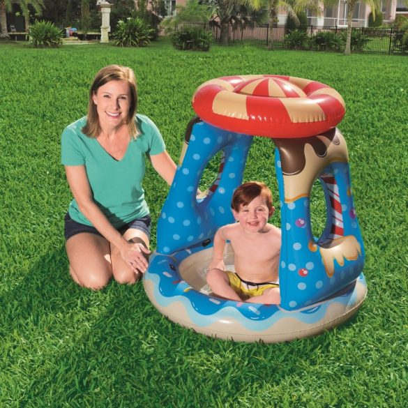 BESTWAY Candyville Playtime Pool pancsoló 91 x 91 x 89cm (52270)