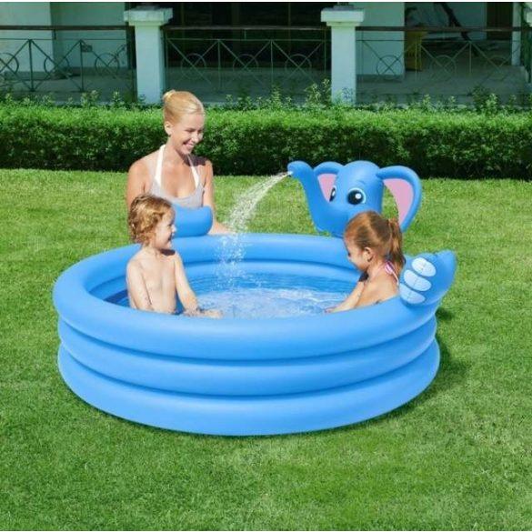 BESTWAY Elephant Play Pool elefántos pancsoló 152 x 152 x 74cm (53048)