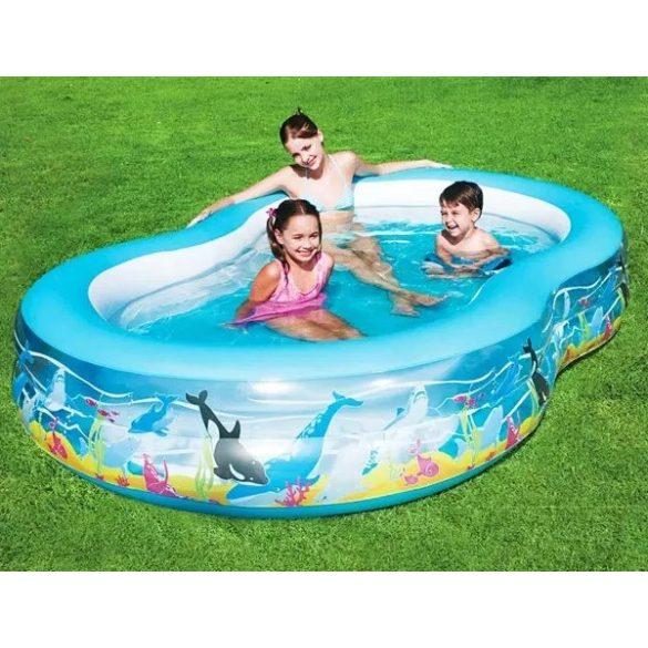 BESTWAY Play Pool családi medence 262 x 157 x 46cm (54118)