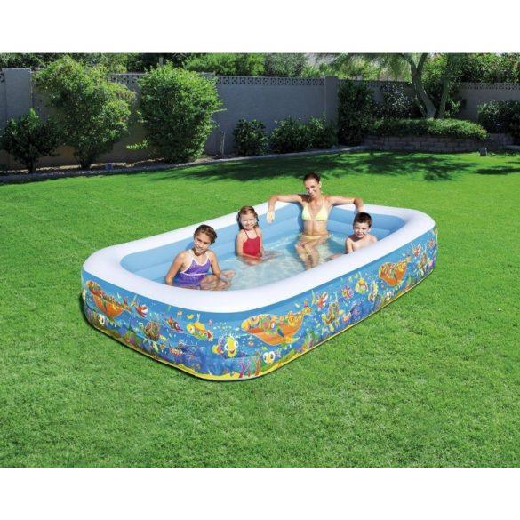 BESTWAY Play Pool családi medence 305 x 183 x 56cm (54121)
