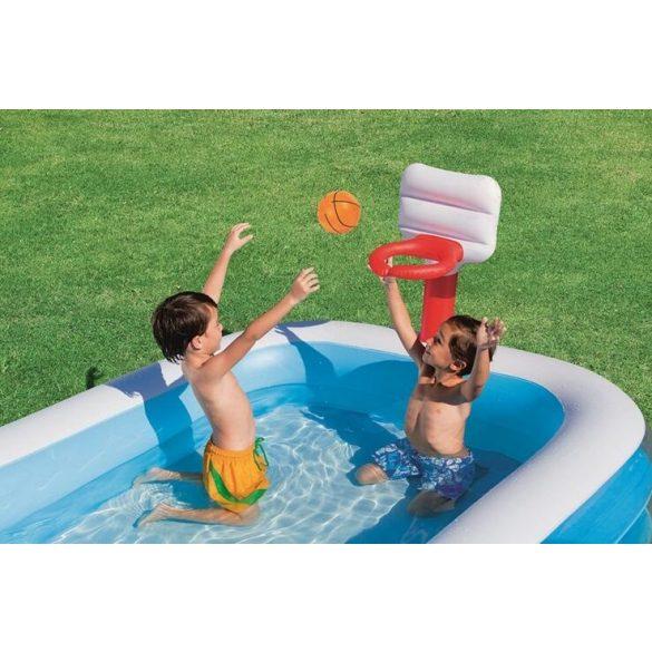 BESTWAY Basketball Play Pool kosárlabdás pancsoló 251 x 168 x 102cm (54122)