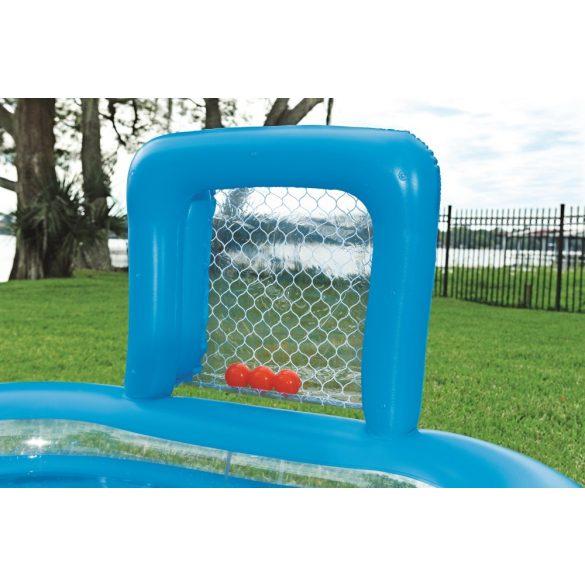 BESTWAY Skill Shot Play Pool célbadobós pancsoló 237 x 152 x 94cm (54170)