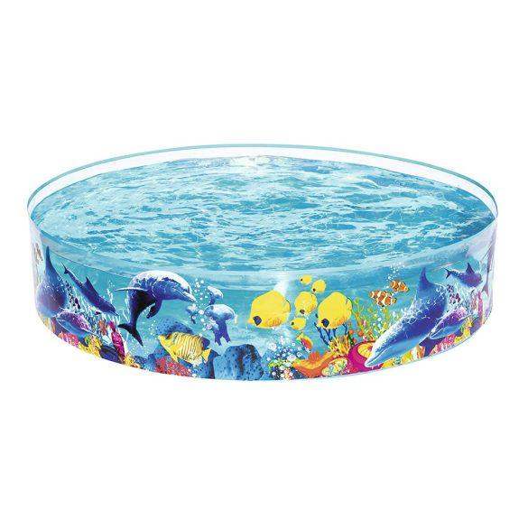 BESTWAY Fill n Fun Odyssey Pool medence D244 x 46cm (55031)