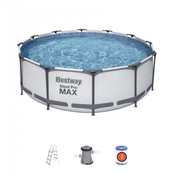 BESTWAY Steel Pro MAX Set medence D3,66m x 100cm (56418) FFA 690