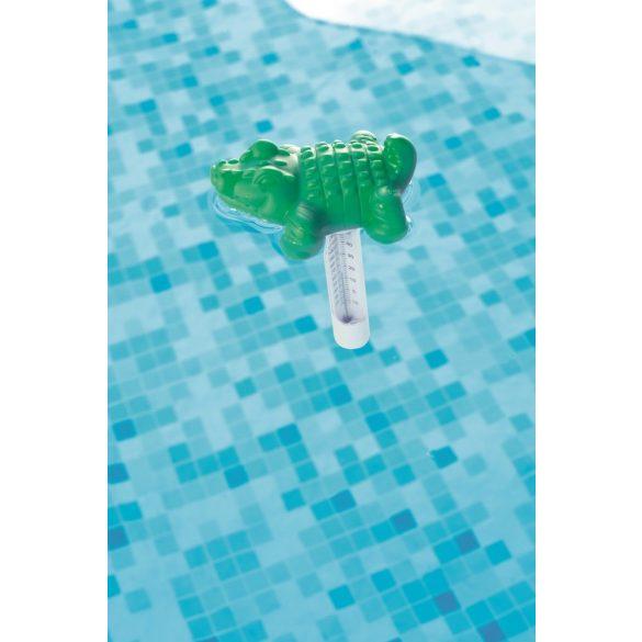 BESTWAY krokodilos medence hőmérő (58110)