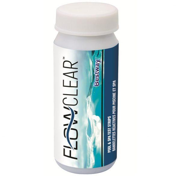 BESTWAY FlowClear Mérőcsík készlet 3in1, szabad klór pH lugosság 50db-os (58142)