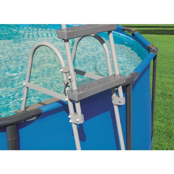 BESTWAY Biztonsági medence létra 3 fokos 107cm magas medencékhez (58330)