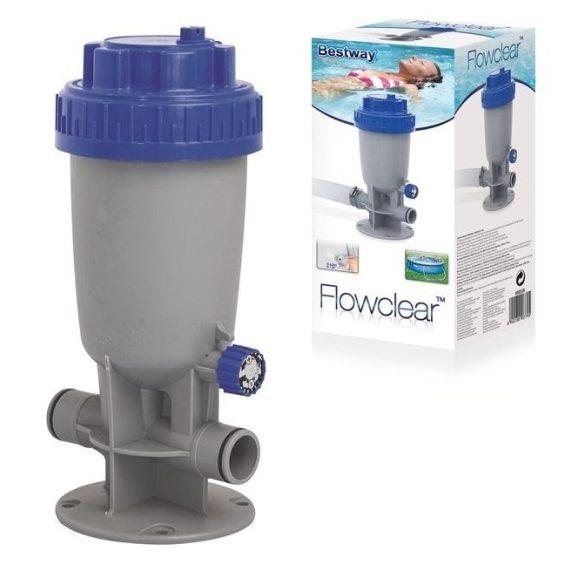 BESTWAY beépíthető vegyszer adagoló medencéhez (58338)