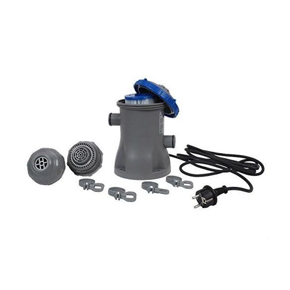 BESTWAY FlowClear, Papírszűrős vízforgató 1m3/h (58381)