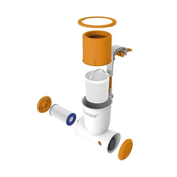 BESTWAY Skimatic, Papírszűrős vízforgató és szkimmer 2,5m3/h (58462)