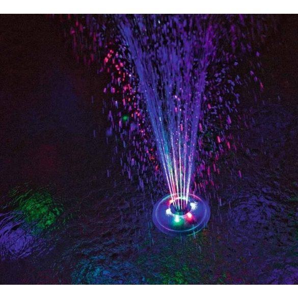 BESTWAY vízen úszó LED medence világítás és szökőkút (58493)