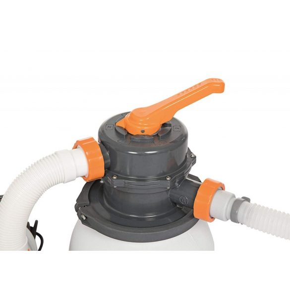 BESTWAY FlowClear, Homokszűrős vízforgató, 3,4m3/h (58495)