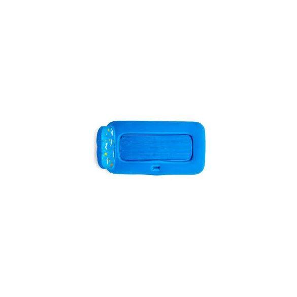 BESTWAY Dream Glimmers felfújható gyermekágy éjszakai világítással, kék, 132 x 76 x 46cm (67496)
