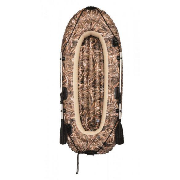 BESTWAY Realtree Max-5 Trophy Runner felfújható gumicsónak szett (2 személyes) 243 x 102cm (92100)