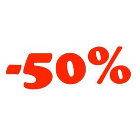 Legalább 50%-os kedvezmények