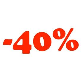 Legalább 40%-os kedvezmények