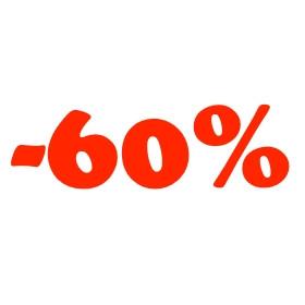 Legalább 60%-os kedvezmények