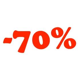 Legalább 70%-os kedvezmények