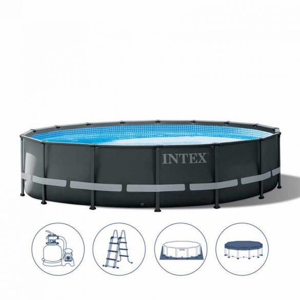 INTEX UltraSet XTR medence 610 x 122 cm homokszűrővel (26334) 2020-as modell