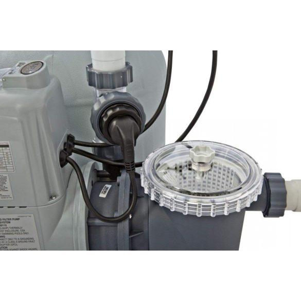 INTEX KrystalSand, Homokszűrős vízforgató, 6m3/h Sóbontó készülék ECO technológiával (26676)