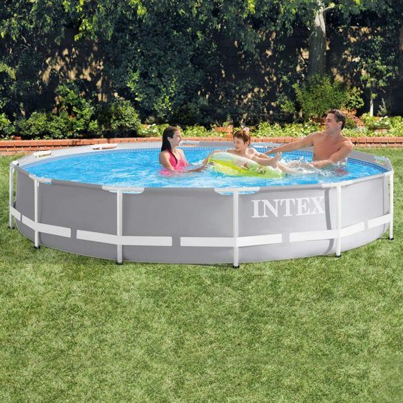 INTEX MetalPrism Pool medence D3,66m x 76cm (26710)