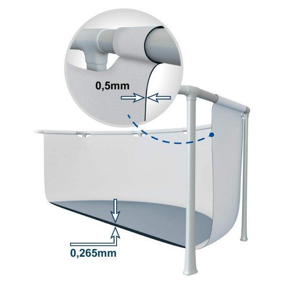 INTEX MetalPrism Set medence 366 x 76 cm (26712) 2020-as modell