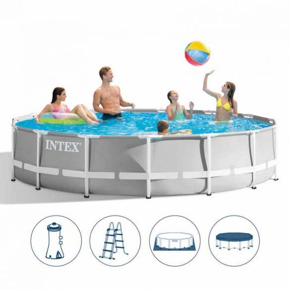 INTEX MetalPrism Set medence 549 x 122 cm (26732) 2020-as modell