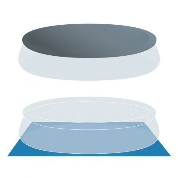 INTEX MetalPrism Set négyszögletű medence 488 x 244 x 107 cm (26792) 2020-as modell
