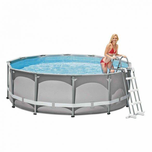 INTEX Biztonsági medence létra 4 fokos 132cm magas medencékhez (28077)