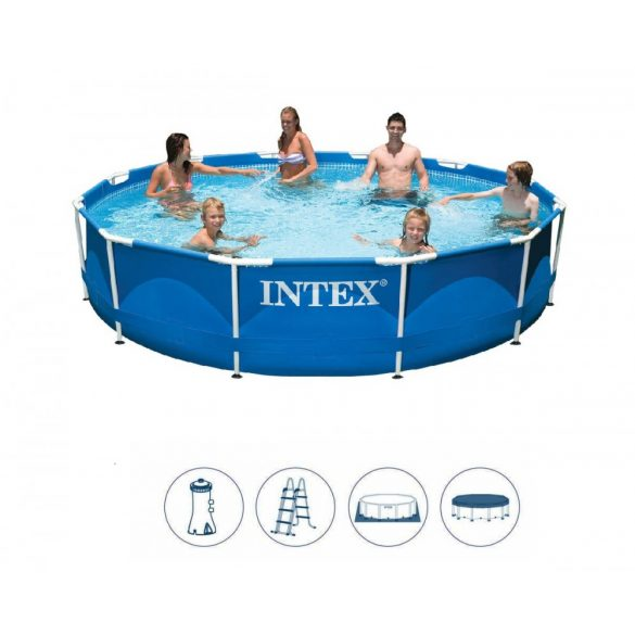 INTEX MetalSet medence 457 x 84 cm (28240) 2020-as modell