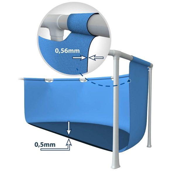INTEX Metal medence 2,2m x 1,5m x 60cm (28270)