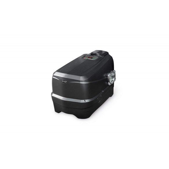 INTEX PureSPA Onyx Black Octagon jacuzzi, sóbontó készülékkel, 6 személyes, D218 x 71 cm, fekete / fehér (28462)