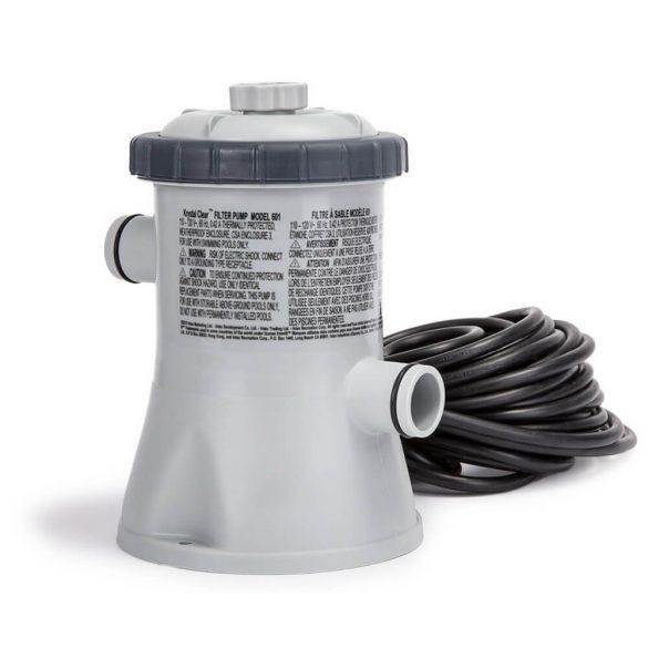 INTEX KrystalClear, Papírszűrős vízforgató 1,2m3/h (28602)