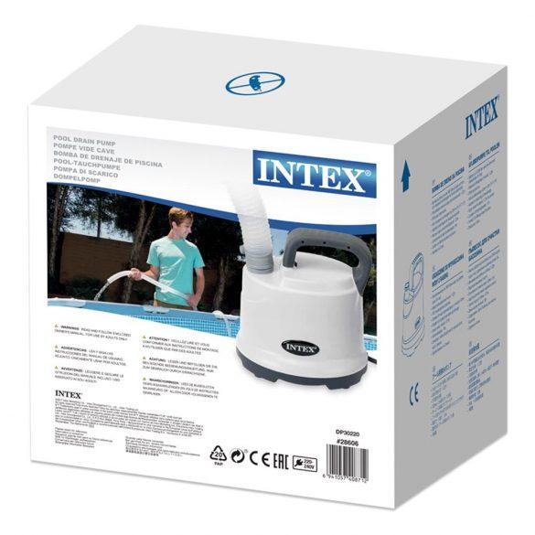 INTEX medence leeresztő szivattyú, 3,6 m3/h (28606)